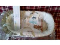 BRAND NEW MOSES BASKET