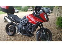 2014 TRIUMPH TIGER SPORT 1050 ABS, FULL TRIUMPH LUGGAGE, ONLY 13,500 MILES, FULL SERVICE HISTORY
