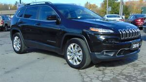 2016 Jeep Cherokee LIMITED 4X4 - TOW GROUP - TECHNOLOGY GROUP