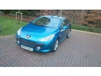 Peugeot 307 SPORT 1.6cc 2dr fully loded leather interior 2007 plate quick sale
