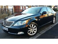 BLACK 2007 LEXUS LS460 SE LS 460, FSH, LONG MOT, WONDERFUL DRIVE, HPI CLEAR, SUPERB CONDITION £6500
