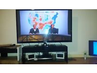 TV Stand with speakers+BLUETOOTH. NEW IN BOX WHITE £125 O N O BLACK £150 O N O LOOK ON TESCO DIRECT