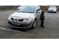 Renault megane 1.6 dynamique 2006 no mot but will pass