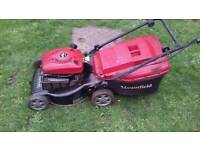 Mountfield rv40 petrol lawnmower
