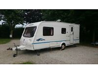 4 Berth Caravan - Bailey Ranger 510/4 End Bathroom - Recently Serviced - Excellent Condition