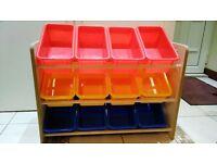 12 box toy sorter