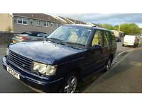 Range Rover 2.5 DHSE P38 Auto. NO RUST. Mot Feb 2018. 152,000 miles. Only 3 owners from new.