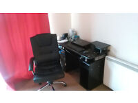 Desk and Office Chair (Moving houses and don't need it anymore)