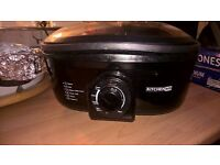 8in 1 kitchen m8 in black comes with wire basket used once so in very good condition recipe book too