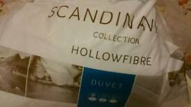 Scandinavian collection hollow fibre duvet