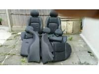 BMW 3 Series leather Seat black