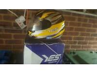 Motorcycle helmet size 56to 58