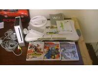 Nintendo Wii boxed with fit board
