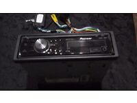Renault clio car stereo pioneer deh 2200ub came out of renault clio