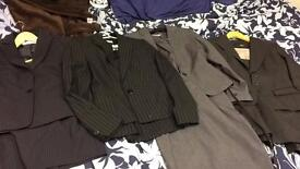 Four Women's suits size 6/8