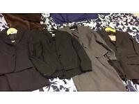 Four Women's suits size 6/8