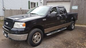 2006 Ford F-150 XLT 4x4,5.4 V8, Crew Cab Cambridge Kitchener Area image 3