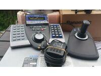 Panasonic cctv ptz dvr and controller system