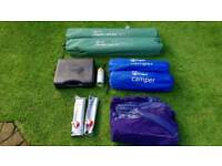 CAMPING EQUIPMENT - SLEEP AND HOT FOOD COVERED