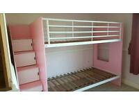 ***BUNK BEDS WITH STORAGE***