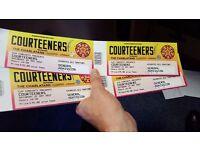 4 x Courteeners Tickets - Manchester Emirates Stadium - 27 May 2017
