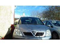 Vauxhall Meriva 1.8 for sale