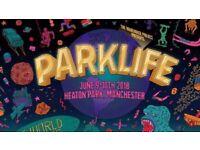 Parklife 2018 General weekend ticket