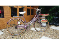 womens vintage raleigh caprice dutch style town bike