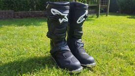Alpinestars Tech 1 Boots, SIZE UK 8