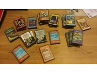 LARGE COLLECTION OF RETRO AMSTRAD AND SPECTRUM CASSETTE GAMES! MUST GO!!