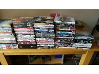 Assortment of dvds