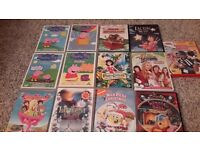 13 childrens videos....great for caravan, christmas etc.£10 ono