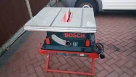 BOSCH GTS10 TABLE SAW