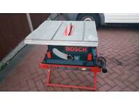 BOSCH GTS10 TABLE SAW