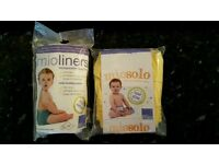 New reuseable nappy and nappy liners