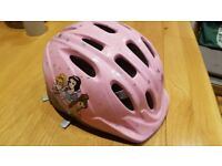 Disney Girls' Cycling Helmet in very good condition Size 48-52cm