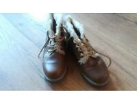 Sturdy walking boots Size 3