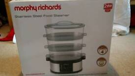 Morphy Richards 48755 Stainless Steel Electric Steamer