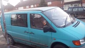 mercedes vito automatic full mot swap