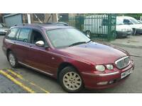 BARGAIN ROVER 75 ESTATE CONESER LPG GAS CONVERTED LOW MILEAGE ALLOYS WITH GOOD TYRES
