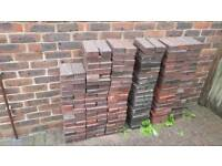 Brick pavers 50mm thick. About 700