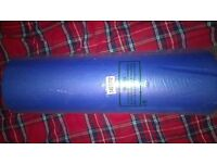 blue yoga mat brand new