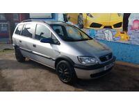 SOLD - Vauxhall Zafira 1.6 Petrol 7 seater, 12 months MOT, -SOLD