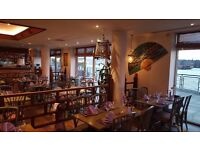 Experienced waiter/waitress wanted for busy riverside Thai restaurant in the Docklands