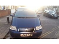 Pco car vw sharan £1450 car work 9 more months on minicab reliable good runner call on 07421165087