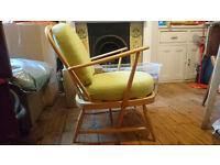 Ercol arm chair, restored