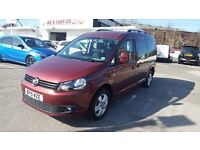 2015 VW CADDY MAXI C20 LIFE 7SEAT IN V5 ONLY2,900K MILEAGE LIKE NEW CAR 12 M NATIONWIDE WARRANTY