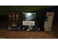 3x gangster dvds for sale