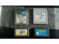 4 Mario / Super Mario Nintendo Gameboy Games