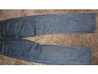 """American Eagle Outfitters Dark Rinse slim straight Jeans 32""""x34"""""""
